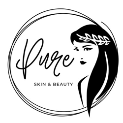 pure skin beauty logo